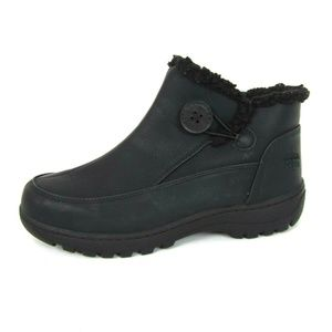Totes Fallon Faux Fur Lined Rain Winter Boots 8M